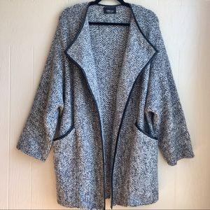 Zara Knit Cardigan Sweater Coat